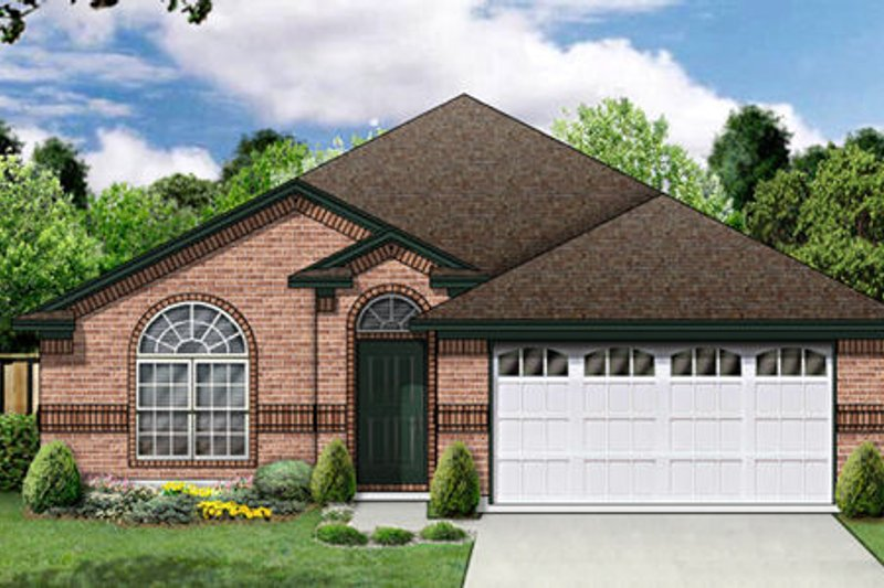 Traditional Exterior - Front Elevation Plan #84-353 - Houseplans.com