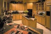 Mediterranean Style House Plan - 3 Beds 3.5 Baths 3891 Sq/Ft Plan #930-100 Interior - Kitchen