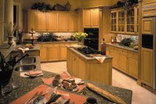 Mediterranean Interior - Kitchen Plan #930-100