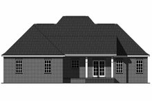 Home Plan - European Exterior - Rear Elevation Plan #21-339