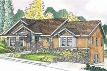 Dream House Plan - Craftsman Exterior - Front Elevation Plan #124-622