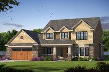 House Design - Craftsman Exterior - Front Elevation Plan #20-2416