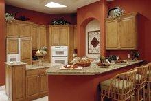 Dream House Plan - Mediterranean Interior - Kitchen Plan #930-14