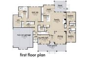 Farmhouse Style House Plan - 4 Beds 3 Baths 2192 Sq/Ft Plan #120-263 Floor Plan - Main Floor