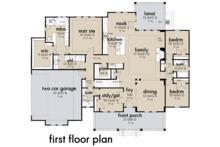 Farmhouse Floor Plan - Main Floor Plan Plan #120-263