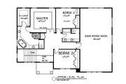 Traditional Style House Plan - 3 Beds 2.5 Baths 3092 Sq/Ft Plan #133-108 Floor Plan - Upper Floor Plan