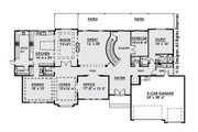 Contemporary Style House Plan - 6 Beds 5.5 Baths 6786 Sq/Ft Plan #1066-30 Floor Plan - Main Floor Plan
