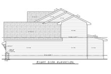 Architectural House Design - Farmhouse Exterior - Other Elevation Plan #20-2362