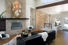 Contemporary style home, modern design house, Great Room photo