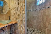 Mediterranean Style House Plan - 5 Beds 3 Baths 3067 Sq/Ft Plan #80-184 Interior - Bathroom