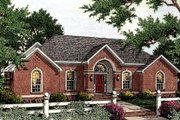 Southern Style House Plan - 3 Beds 2.5 Baths 2420 Sq/Ft Plan #406-119 Exterior - Front Elevation
