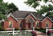 Home Plan - Southern Exterior - Front Elevation Plan #406-119
