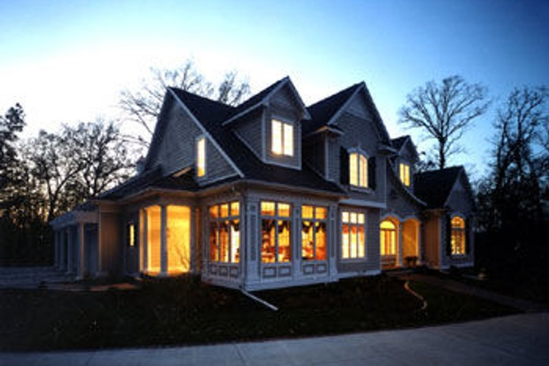 Colonial Exterior - Other Elevation Plan #70-520 - Houseplans.com