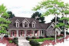 House Design - Mediterranean Exterior - Front Elevation Plan #45-242