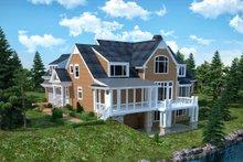 Traditional Exterior - Rear Elevation Plan #30-345