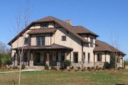 Craftsman Style House Plan - 4 Beds 3 Baths 3435 Sq/Ft Plan #413-105 Photo