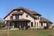 Craftsman Style House Plan - 4 Beds 3 Baths 3435 Sq/Ft Plan #413-105 Photo