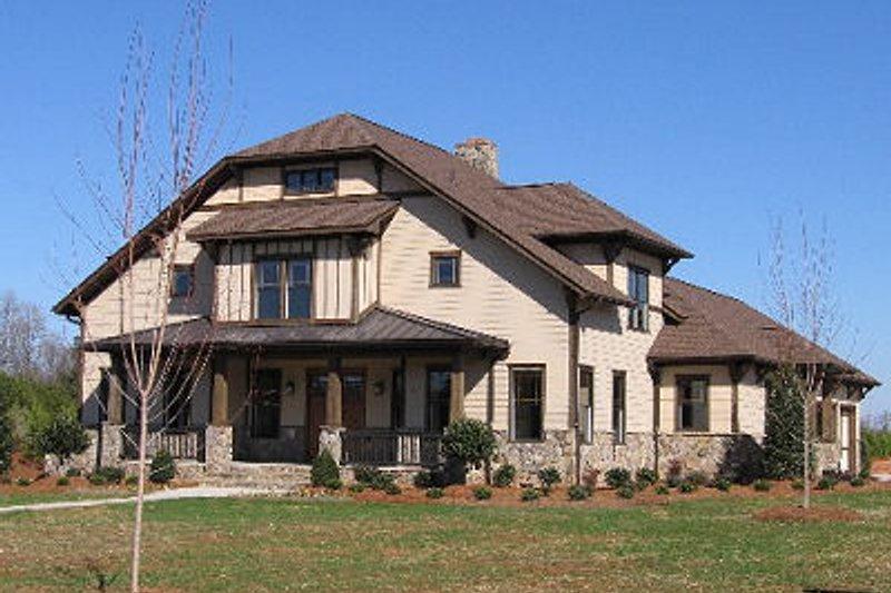 Craftsman Photo Plan #413-105 - Houseplans.com