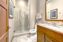 Architectural House Design - Lower Level Bath off Bedroom 1