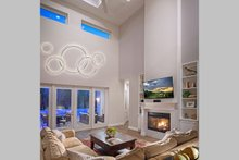 House Plan Design - Contemporary Interior - Family Room Plan #938-92