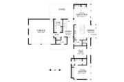 Contemporary Style House Plan - 3 Beds 3 Baths 2371 Sq/Ft Plan #48-693 Floor Plan - Main Floor Plan