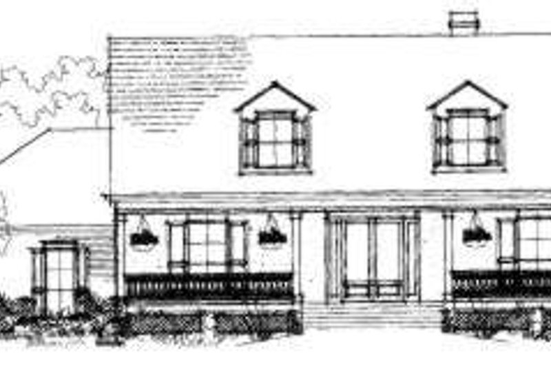 Farmhouse Exterior - Front Elevation Plan #325-101