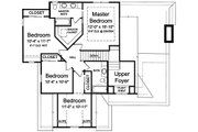Craftsman Style House Plan - 4 Beds 2.5 Baths 1959 Sq/Ft Plan #46-470 Floor Plan - Upper Floor Plan