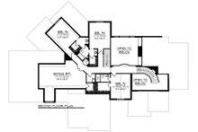 Traditional Floor Plan - Upper Floor Plan Plan #70-1296