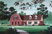 Country Style House Plan - 3 Beds 2 Baths 1681 Sq/Ft Plan #45-320 Exterior - Other Elevation