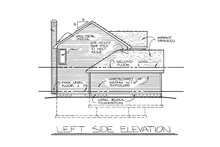 House Plan Design - Traditional Exterior - Other Elevation Plan #20-2013