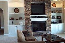 House Plan Design - European Interior - Family Room Plan #17-2167