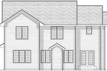 Traditional Exterior - Rear Elevation Plan #70-603