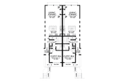 Contemporary Style House Plan - 3 Beds 3 Baths 3834 Sq/Ft Plan #48-1021 Floor Plan - Main Floor