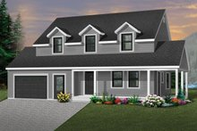 Farmhouse Exterior - Front Elevation Plan #23-278