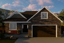 Home Plan - Ranch Exterior - Front Elevation Plan #1060-5