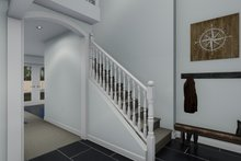 Traditional Interior - Entry Plan #1060-68