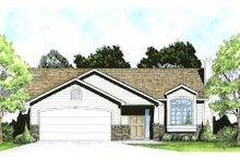 Dream House Plan - Traditional Exterior - Front Elevation Plan #58-201