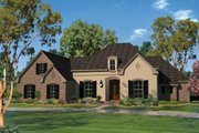 European Style House Plan - 4 Beds 2.5 Baths 2506 Sq/Ft Plan #430-103 Exterior - Front Elevation