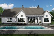 Farmhouse Style House Plan - 3 Beds 2.5 Baths 2125 Sq/Ft Plan #51-1134 Exterior - Rear Elevation