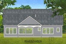 Ranch Exterior - Rear Elevation Plan #1010-207