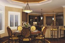 Home Plan - Mediterranean Interior - Dining Room Plan #930-42