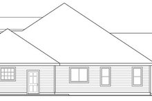 Craftsman Exterior - Other Elevation Plan #124-886