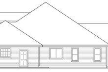 Dream House Plan - Craftsman Exterior - Other Elevation Plan #124-886