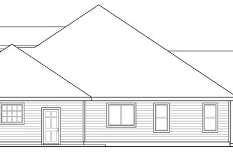 Craftsman Exterior - Other Elevation Plan #124-886 - Houseplans.com