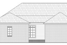 Home Plan - Traditional Exterior - Rear Elevation Plan #21-231