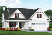 Architectural House Design - Cottage Exterior - Front Elevation Plan #929-1092