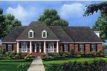 House Design - European Exterior - Front Elevation Plan #21-202