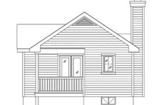 Dream House Plan - Cottage Exterior - Rear Elevation Plan #22-597