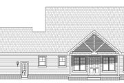 Country Style House Plan - 3 Beds 2 Baths 2200 Sq/Ft Plan #932-276 Exterior - Rear Elevation