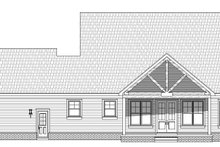 House Plan Design - Country Exterior - Rear Elevation Plan #932-276